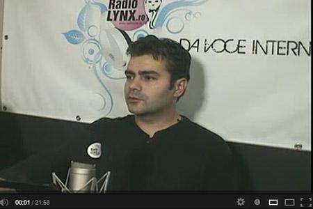 Marius Vornicescu la Radio Lynx cu Eglantina Becheru - Alimentatia fara carne-interviu