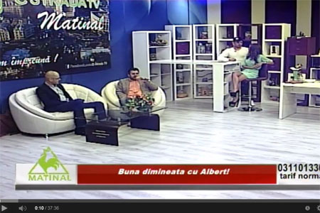 Estrada Matinal cu Marius Vornicescu si Catalin Dandes
