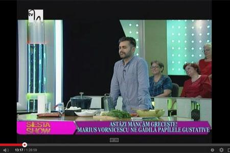 Marius Vornicescu in emisiunea Siesta Show din 27.08.2014