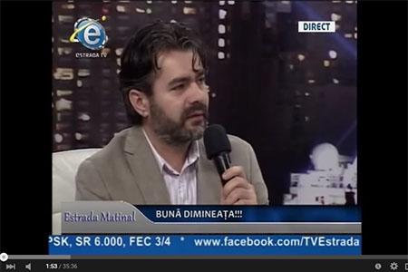 Marius Vornicescu la Estrada Matinal cu Alexanndru 18 Mai 2015