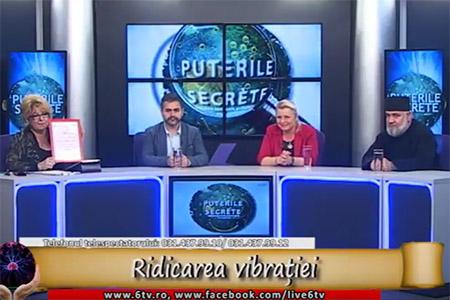 Marius Vornicescu in emisiunea PUTERILE SECRETE